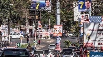 Propaganda electoral: Instan a candidatos a retirar cartelería cumplido el plazo legal