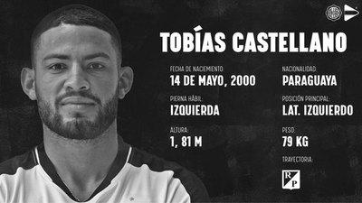 Tobías Castellano, primer refuerzo de Olimpia para el Clausura y Libertadores