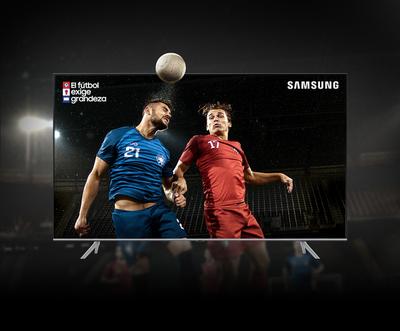 El fútbol exige grandeza y con Samsung se consigue