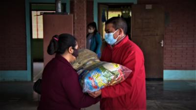 Inicia distribución de almuerzo escolar en instituciones educativas de Boquerón