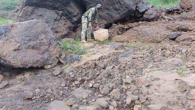 Armada encuentra 22 kilos de cocaína a orillas del río Paraná
