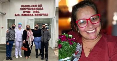 La Nación / Inauguran pabellón en honor a enfermera fallecida por COVID-19 pero no invitaron a la familia