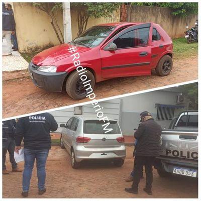 Recuperan vehículos robados a punta de arma de fuego en Ponta Porã