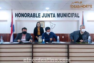 Intendente y Junta Municipal de Pedro Juan Caballero auxiliaron a la ciudadanía desde el comienzo de la Pandemia del Covid19