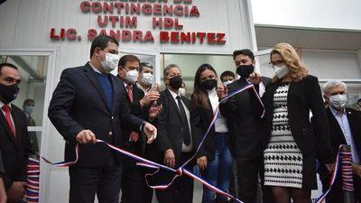 Velázquez refuerza apoyo   en  Lambaré para pelear a HC