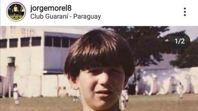 Nostálgico, Morel se despidió de Guaraní