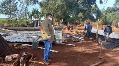 Aparatoso y violento desalojo de comunidad indígena en Itakyry