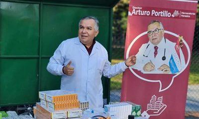 CIERRE DE CAMPAÑA DE ARTURO PORTILLO CON ATENCIÓN MÉDICA Y LABOR SOCIAL