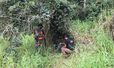Encuentran droga lista para ser llevada al Brasil