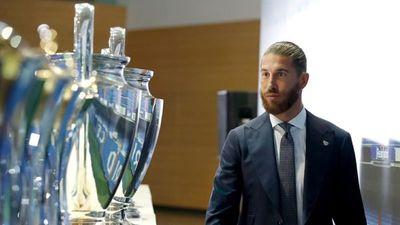 Sergio Ramos se despide del Real Madrid entre lágrimas