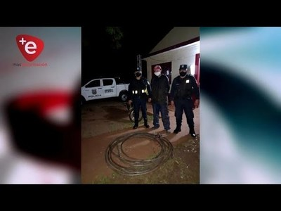 ROBAN Y COMERCIALIZAN CABLES SUBTERRÁNEOS EN ENCARNACIÓN