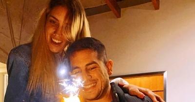 La felicidad que emana del amor Carmiña y Marco