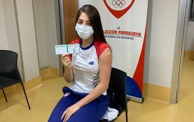 Atletas del COP fueron inmunizados contra el COVID