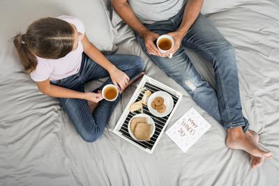 Desayuno de campeones para compartir con papá