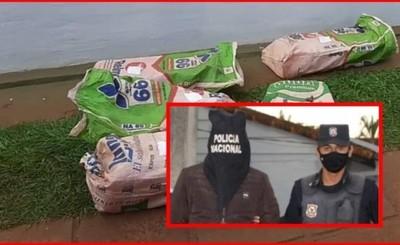 Detenido por intentar huir de la policía con más de 100kg de marihuana