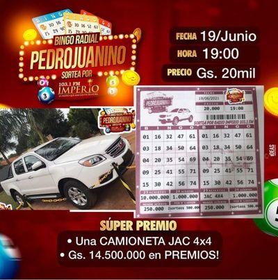 Bingo Radial Pedrojuanino le regala a PAPÁ  un premio tan grande como él