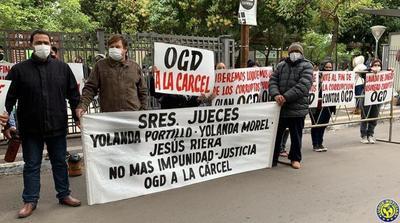 Exigen cárcel para ex senador OGD y su hijo concejal de Luque •