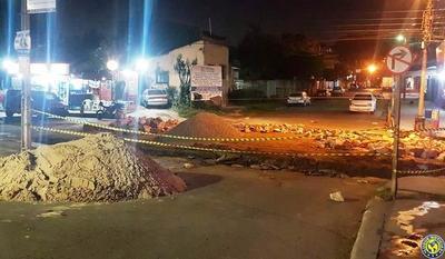 Calle que sirve de principal salida de Luque estará cerrada por dos semanas •