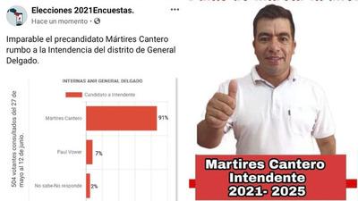 LISTA 10 PROF. MÁRTIRES CANTERO ARRASA, SEGÚN ENCUESTA.