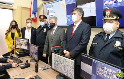 Interior inaugura moderno centro de monitoreo para combatir inseguridad •
