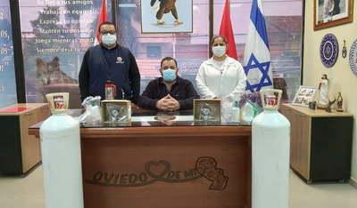 Intendente entrega importantes donaciones al Hospital de Coronel Oviedo