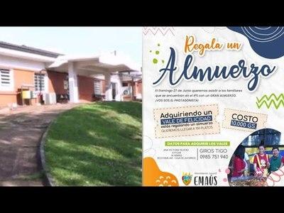 CON EMAÚS, REGALÁ UN ALMUERZO A FAMILIARES DE PACIENTES COVID