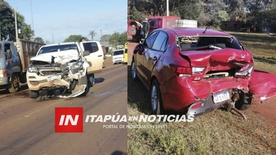 ACCIDENTE DE TRÁNSITO EN ZONA DE PIRAPEY KM 41.
