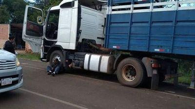 Somnileras pelaron a dos camioneros en Itapúa