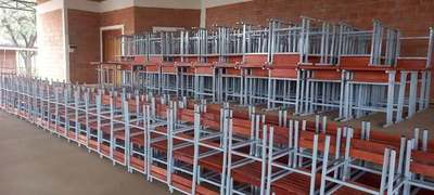 Realizan entrega de mobiliarios a instituciones educativas de Mcal. Estigarribia
