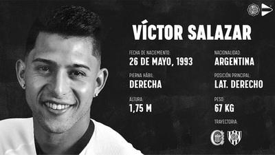 Olimpia presenta a su tercer refuerzo: Víctor Ezequiel Salazar
