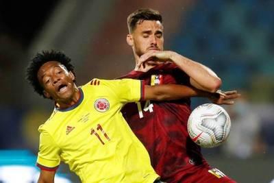 Copa América: opaco empate entre Colombia y Venezuela