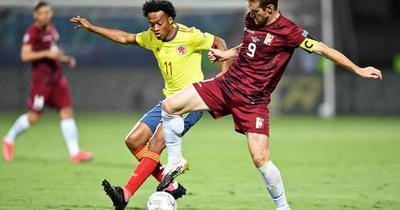 Copa América: Colombia y Venezuela empatan sin goles