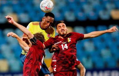 Colombia y Venezuela firman un empate sin goles