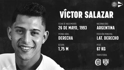 Olimpia presenta a Víctor Salazar
