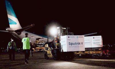 Oguahêta 896.000 dosis Sputnik V oguahëva jasypokõi pahápe