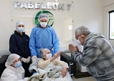 Crónica / ¡SUPERABUELA! Tiene 104 años y venció al coronavirus