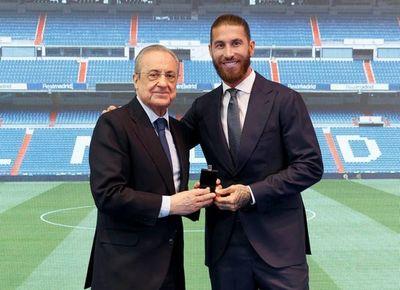Ramos se despide entre lágrimas del Real Madrid