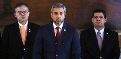 Mario Abdo dio negativo al Covid, una vez más