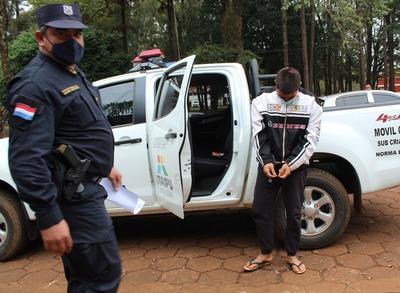 Farra entre excamaradas de cuartel termina con un herido y otro detenido