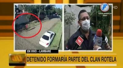 """""""Miembro"""" del Clan Rotela es detenido por homicidio en Villa Elisa"""