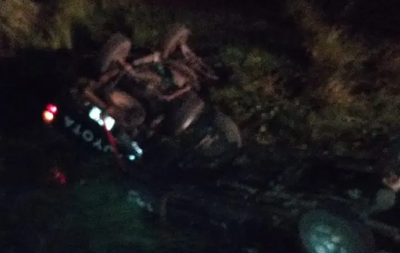 Un fallecido y tres heridos en accidente de vehículos en Ñeembucú