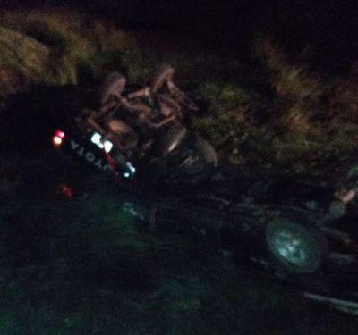 Tres personas heridas y un fallecido deja accidente de tránsito en Ñeembucú