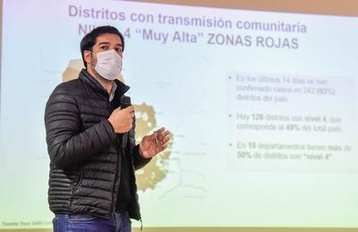 A pesar de menor cantidad de contagios, no se puede hablar de descenso de la pandemia, afirmó Sequera