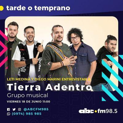 Tierra Adentro alegra este viernes en ABC 98.5 FM