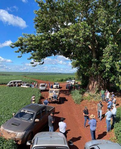 Mensura del Indert en Alto Paraná genera protesta de UGP