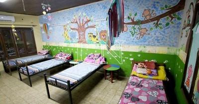 La Nación / Ante bajas temperaturas, Minna activó albergue para menores en situación de calle