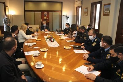 Consensúan proyecto para modernizar y fortalecer la seguridad aeroportuaria del país