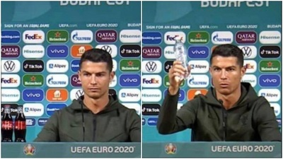 La UEFA sale en defensa de patrocinadores tras desplante de Cristiano