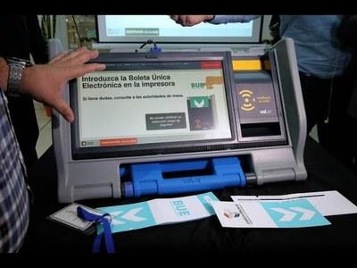 JUSTICIA ELECTORAL REALIZA ESTE SÁBADO PRUEBA DE MÁQUINAS DE VOTACIÓN