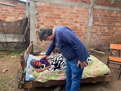 UPE construye casa a humilde familia de Presidente Franco